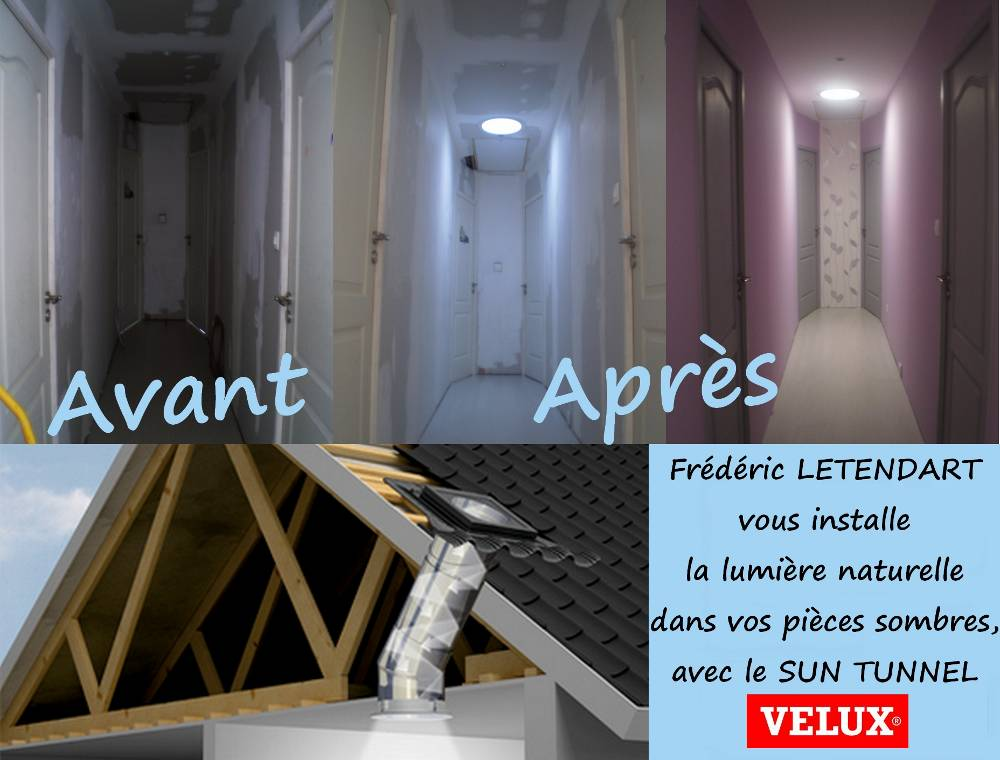 installateur agr velux fen tres de toit puits de lumi re verri res volets roulants. Black Bedroom Furniture Sets. Home Design Ideas